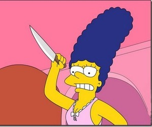 marge and simpsons image
