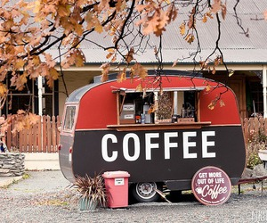 coffee, autumn, and vintage image