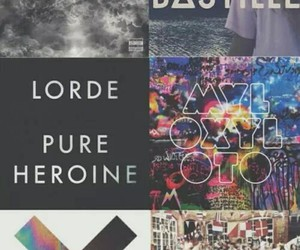 lorde, bastille, and music image