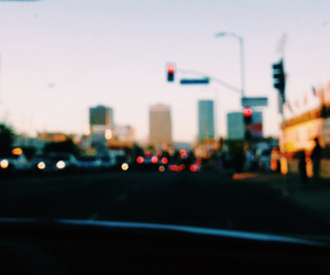 city, indie, and car image