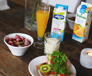 breakfast, flower, and healthy image