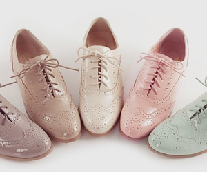pastel, shoes, and cute image