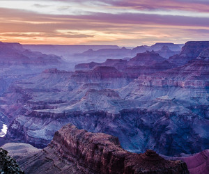 arizona, evening, and grand canyon image