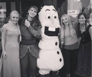 frozen, olaf, and once upon a time image