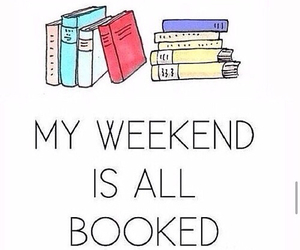 book, weekend, and quotes image