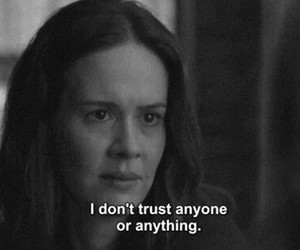 trust, american horror story, and ahs image