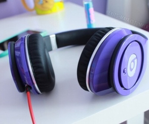 beats, music, and purple image