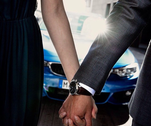 bmw, cars, and couple image