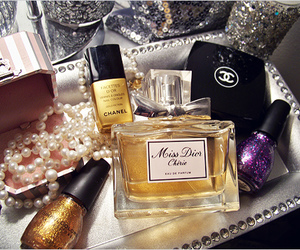 chanel, dior, and perfume image