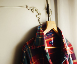clothing, plaid, and hollister image