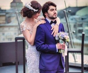 caucasus, wedding, and wedding dress image