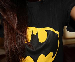 batman, girl, and hair image