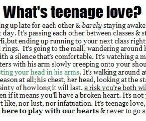 love, teenage, and teenage love image