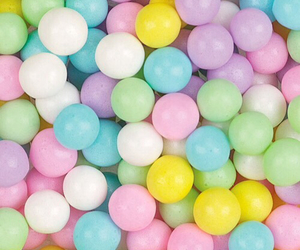 candy, chewing gum, and colors image