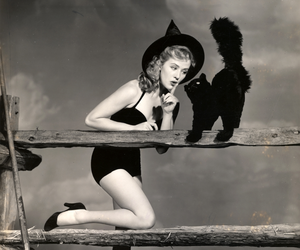 witch, Halloween, and vintage image