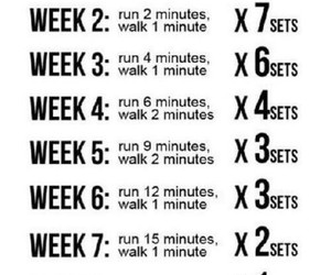 workout, fitness, and run image
