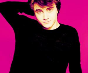 handsome, pink, and daniel radcliffe image