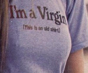 virgin, shirt, and funny image
