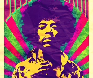 hendrix, jimi, and poster image