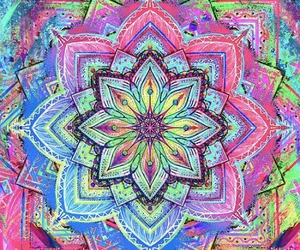hippie, pink, and colorful image