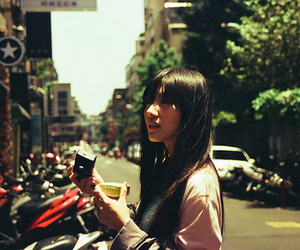 asian, city, and girl image