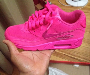 pink, shoes, and airmax image