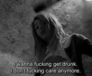 quote, sad, and i dont care anymore image