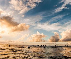 beach, beautiful, and breathtaking image