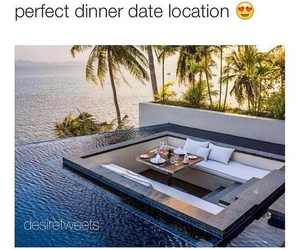 beach, couple, and date image