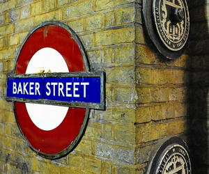england, baker street, and london image