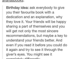 birthday, books, and idea image