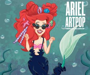 ariel, Lady gaga, and disney image