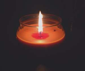 autumn, candle, and comfortable image