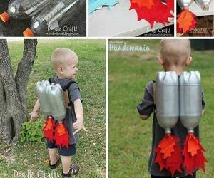 diy costume, kids costume, and rocket pack image