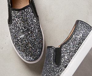 glitter, shoes, and sneakers image