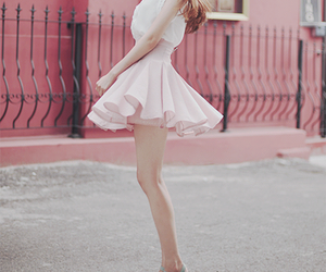 fashion, pink, and kfashion image