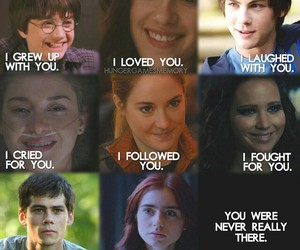 bella, katniss, and clary image