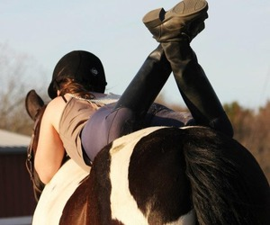 bareback, boots, and riding image