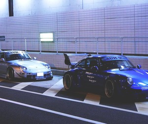 porche, cars, and racers image
