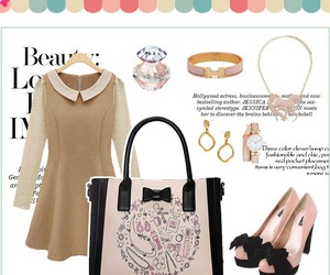handbags, outfit, and cute outfit image