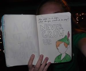 disney, peterpan, and wreck this journal ideas image