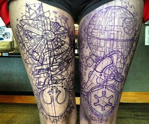 tattoo and star wars image