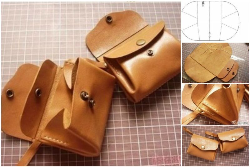 How to diy leather purse | www. Fabartdiy. Com on we heart it.