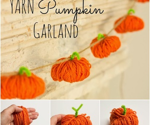diy, garland, and halloween decor image