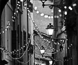 lights and vintage image