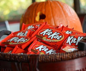 candy, chocolate, and fall image