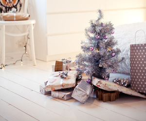 winter, christmas, and gifts image