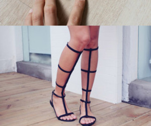 diy, sandals, and shoes image