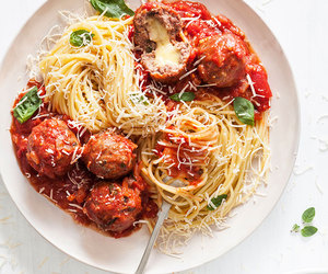 beef, meat, and meatballs image