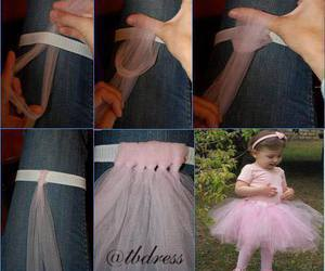 diy, tutu, and skirt image